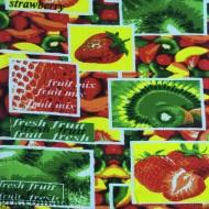 Ткань полотенечная вафельная набивная 45 (050157)