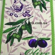 Ткань полотенечная вафельная набивная 45 (050478)