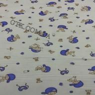 Фланель белоземельная, детская ш.180 (030140)