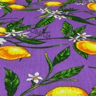 Ткань полотенечная вафельная набивная 45 (050480)