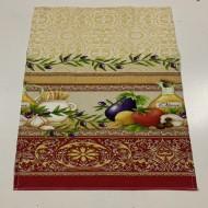 Полотенце кухонное вафельное 35х70 (035005)