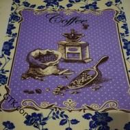 Ткань полотенечная вафельная набивная 45 (050155)