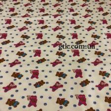 Фланель белоземельная, детская ш.180 (030714)