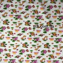 Фланель белоземельная, детская ш.180 (030435)