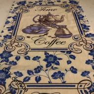 Ткань полотенечная вафельная набивная 45 (050154)