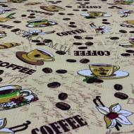 Ткань полотенечная вафельная набивная 45 (050160)