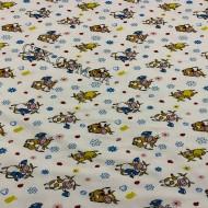 Фланель белоземельная, детская ш.180 (030721)