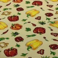 Ткань полотенечная вафельная набивная 45 (050432)